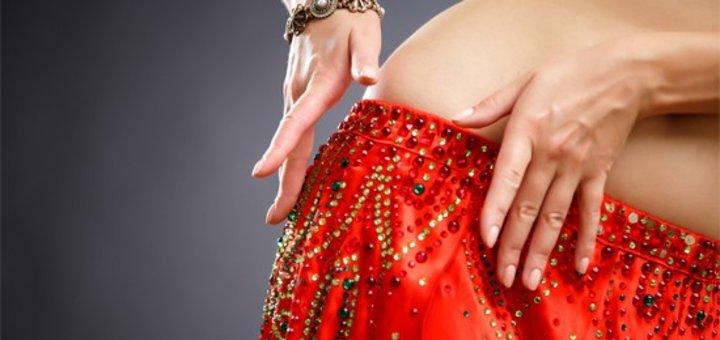 Скидка на занятия восточными танцами для взрослых в танцевальной студии «Альфа денс»