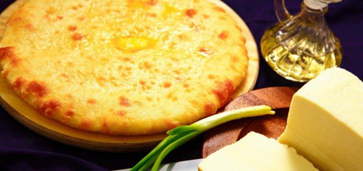 Сертификат на покупку любой продукции осетинской пироговой «5 пирогов» со скидкой до 50%