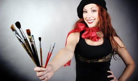 Разрисуй серую осень! 1 или 3 месяца обучения рисованию в студии изобразительных искусств «Luck Out Club»! От 120 грн.!