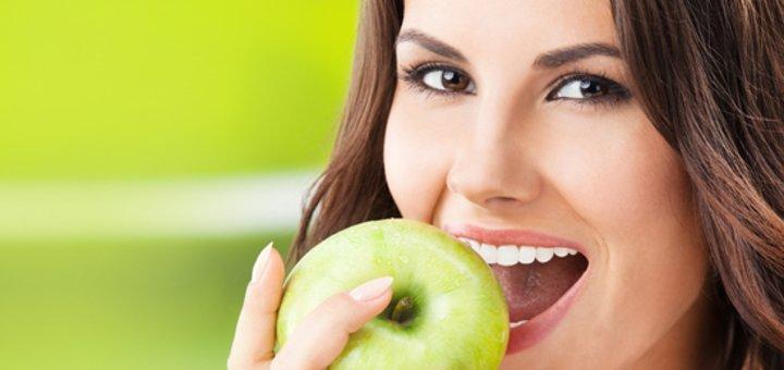 """Улыбнись! Установка фотополимерных пломб на 1 или 2 зуба + лечение глубокого кариеса в стоматологическом кабинете """"White Smile""""! Всего от 99 грн.!"""