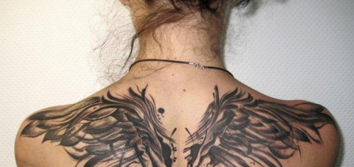 Скидка 30% на татуировку в студии «Black Sun Tattoo»
