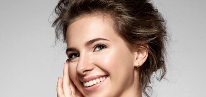 Молочный пилинг лица в кабинете косметологии Виктории Панченко