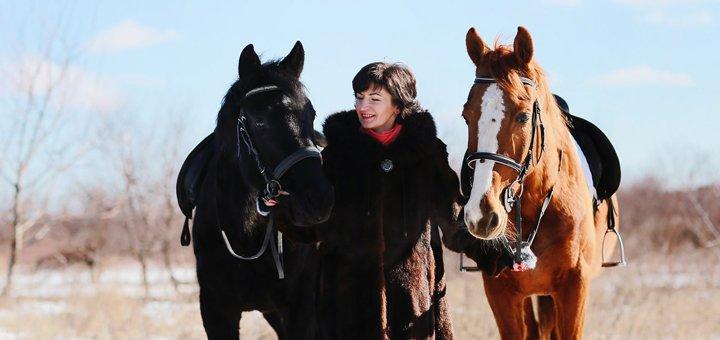 Скидка 35% на посещение конного клуба «Георгиевский»