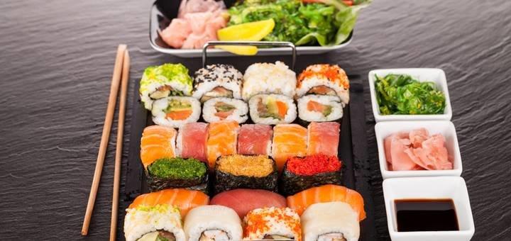 Скидка 30% на все суши-меню от ресторана «Chicago»