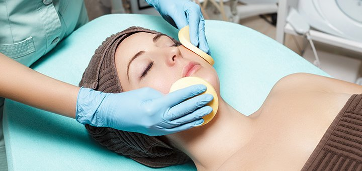 Скидка до 60% на чистку лица от косметолога Натальи Бабич