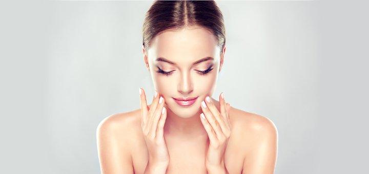 Ультразвуковая или комбинированная чистка лица в 12 этапов в студии красоты «Ideal Body»