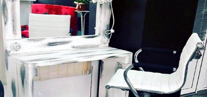 Ламинирование ресниц и окрашивание бровей в студии красоты «Aziza&Co»