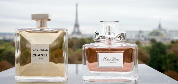 Скидки 70% на парфюмерию «Chanel», «Givenchy», «Lancome»