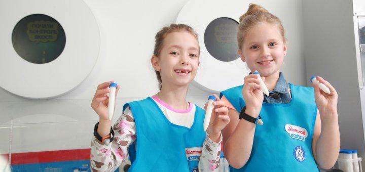 Входной билет для детей и взрослых в детский парк профессий «Кидландия» в будние и воскресенье